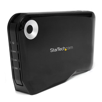 "StarTech.com Box esterno Wireless per disco rigido SATA da 2,5"" pollici con USB e WIFI AP (Access Point)"