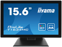 "iiyama T1634MC 15.6"" 1366 x 768Pixel Chiosco Nero monitor touch screen"