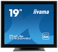 "iiyama ProLite T1932MSC 19"" 1280 x 1024Pixel Da tavolo Nero monitor touch screen"