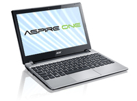 "Acer Aspire One 756-987B2ss 1.5GHz 987 11.6"" 1366 x 768Pixel Argento Netbook"