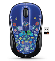 Logitech M317 RF Wireless Ottico 1000DPI mouse