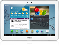 Samsung Galaxy Tab 2 10.1 32GB 3G Bianco tablet
