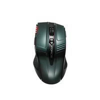 Gigabyte FORCE M9 Wireless  + USB Ottico 2000DPI Verde, Turchese mouse