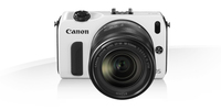 Canon EOS M + EF-M 18-55mm + 90EX Kit fotocamere SLR 18MP CMOS 5184 x 3456Pixel Bianco