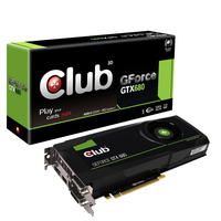 CLUB3D GeForce GTX 680 4GB GeForce GTX 680 4GB GDDR5