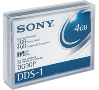 Sony Data Cart DG90 2GB 91m DDS1 1pk