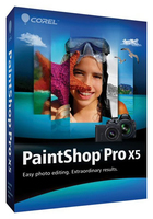 Corel PaintShop Pro X5, 1u, WIN, FRE