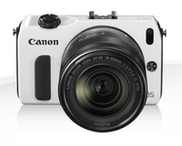 Canon EOS M + EF-M 18-55mm Kit fotocamere SLR 18MP CMOS 5184 x 3456Pixel Bianco