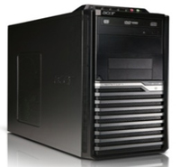 Acer Veriton 290 3.1GHz i3-2100 Scrivania Nero PC