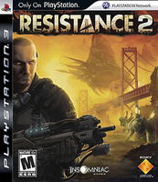 Sony Resistance 2, PS3 PlayStation 3 videogioco