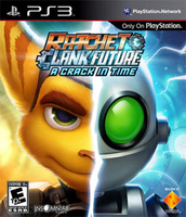 Sony Ratchet & Clank Future: A Crack in Time, PS3 PlayStation 3 videogioco