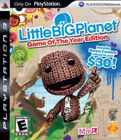 Sony LittleBigPlanet Game of the year edition, PS3 PlayStation 3 videogioco