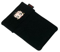 "Cellularline Betty Boop 10"" Custodia a tasca Nero"