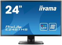 "iiyama ProLite E2481HS-B1 23.6"" Full HD TN+Film Nero monitor piatto per PC"