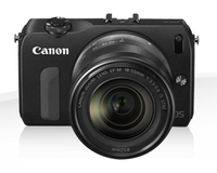 Canon EOS M + EF-M 18-55mm + EF-M 22mm + 90EX Kit fotocamere SLR 18MP CMOS 5184 x 3456Pixel Nero