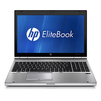 "HP EliteBook 8570p 2.9GHz i7-3520M 15.6"" 1366 x 768Pixel 3G Argento"