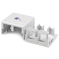 StarTech.com Dual Outlet Universal Wall Box