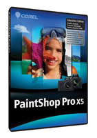 Corel PaintShop Pro X5, Education Edition Version 15