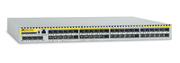 Allied Telesis 48 x FE SFP ports Layer 3 Switch w/ 4x Gigabit uplink ports Gestito L3 Argento