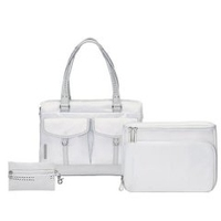 "Sony Mandarina Duck Case Pure White 14.1"" Ventriquattore da donna Bianco"