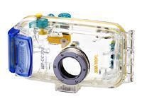 Canon WATERPROOF CASE WP-DC300 Blu, Trasparente