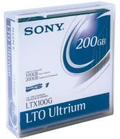 Sony Data Cart 100-200GB 609m LTO 1pk