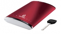 Iomega eGo Ruby Red Portable Hard Drive 250 GB 250GB Rosso disco rigido esterno