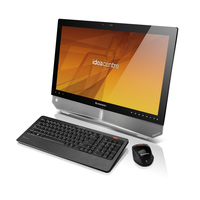 "Lenovo IdeaCentre B520 2.7GHz G630 23"" 1920 x 1080Pixel Touch screen Nero, Argento PC All-in-one"
