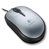 Logitech Optical Mouse for Notebooks USB Ottico mouse