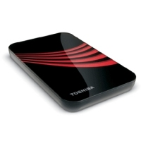 Toshiba 250GB USB 2.0 Portable External Hard Drive 250GB Rosso disco rigido esterno