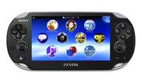 "Sony PS Vita WiFi 5"" Touch screen Wi-Fi Nero console da gioco portatile"
