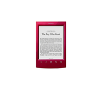 "Sony PRS-T2 6"" Touch screen 2GB Wi-Fi Rosso lettore e-book"