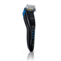 Philips HAIRCLIPPER Series 5000 QC5360/15 Ricaricabile Nero, Blu Rasoio e regolabarba