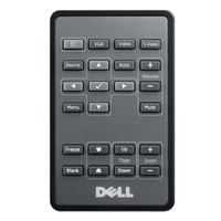 DELL 725-10324 IR Wireless Pulsanti Nero telecomando