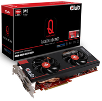 CLUB3D CGAX-7957F2 Radeon HD7950 3GB GDDR5 scheda video