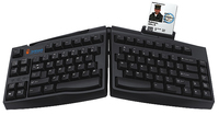 Goldtouch SC2.0 Ergonomic Smart Card QWERTY Inglese Nero tastiera