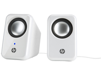 HP Multimedia 2.0 Speakers Stereo portable speaker Argento, Bianco