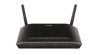 D-Link DSL-2750B/E Fast Ethernet Nero router wireless