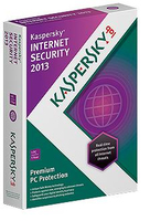 Kaspersky Lab Internet Security 2013, Box, 3U, 1Y 3utente(i) 1anno/i DUT