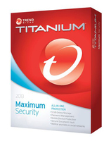 Trend Micro Titanium Maximum Security 2013, 3u, 1Y, RNW Base license 3utente(i) 1anno/i Multilingua