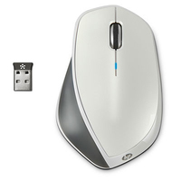 HP X4500 RF Wireless Laser 1600DPI Bianco mouse