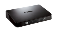 D-Link DGS-1016A No gestito Nero switch di rete