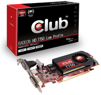 CLUB3D CGAX-7752L Radeon HD7750 1GB GDDR5 scheda video