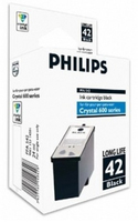 Philips Crystal 42 Nero cartuccia d