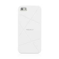 Macally FLEXFITW-P5 Cover Bianco custodia per cellulare