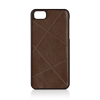 Macally WEAVEBR-P5 Cover Marrone custodia per cellulare