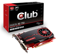 CLUB3D CGAX-7752Z Radeon HD7750 1GB GDDR3 scheda video