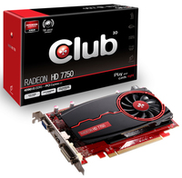 CLUB3D CGAX-7758Z Radeon HD7750 4GB GDDR3 scheda video