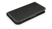 Macally SLIMCOVER5B Custodia a libro Nero custodia per cellulare