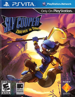 Sony Sly Cooper: Thieves in Time PlayStation Vita Inglese videogioco